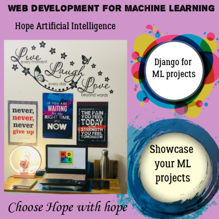 Web Development for Machine Learning projects