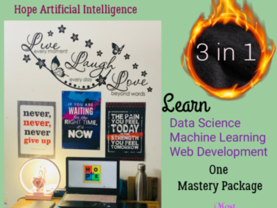 Machine Learning with Data Science using Python